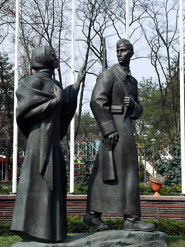 "Пам'ятник ""Прощання солдата"""