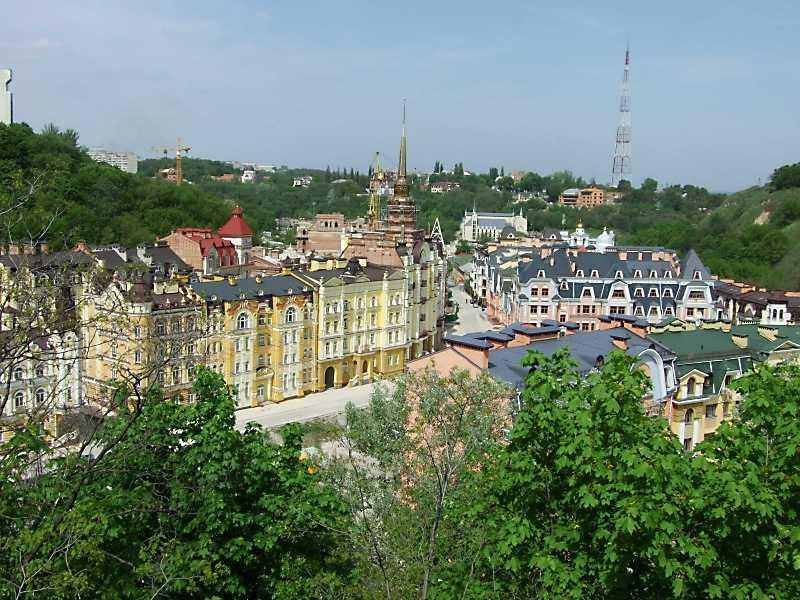 2010 р. Загальний вигляд вул.Кожум'яцької з Клинця