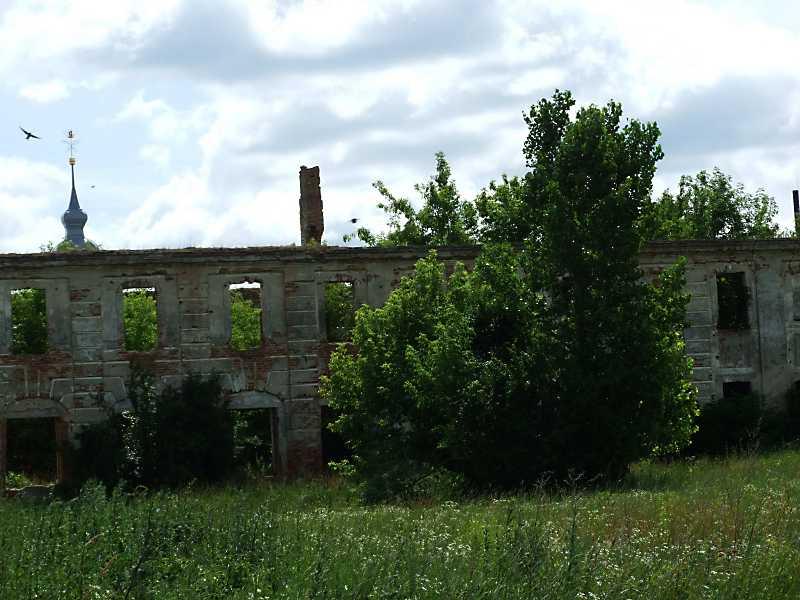 2011 р. Південна частина західного фасаду. Вигляд із заходу