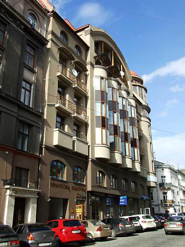 2012 р. Загальний вигляд у перспективі вул. Валової