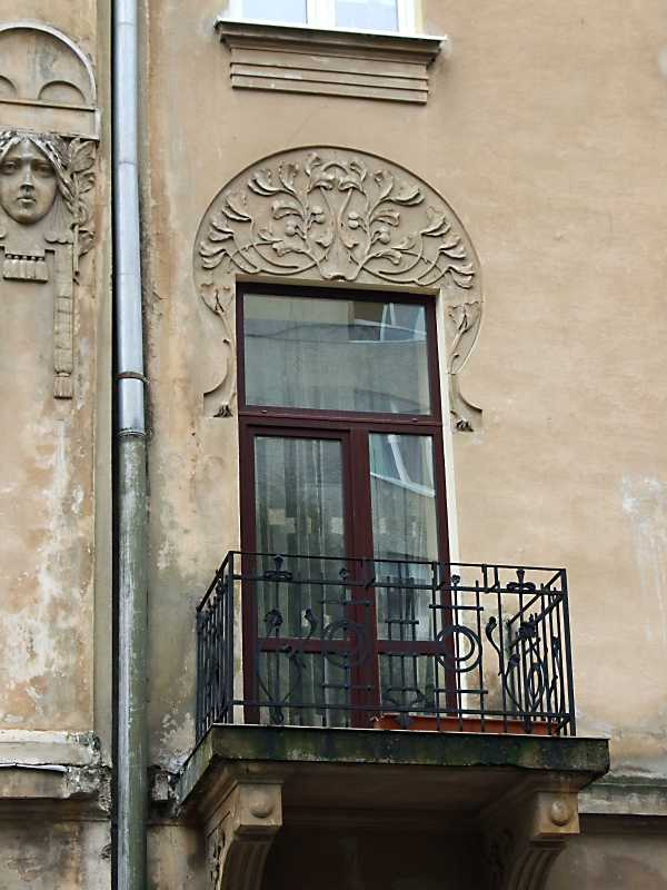 Сецесійне вікно 2-го поверху