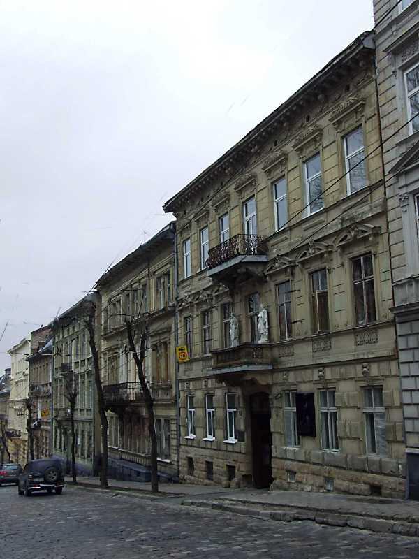 2012 р. Перспектива будинків № 17 – 23