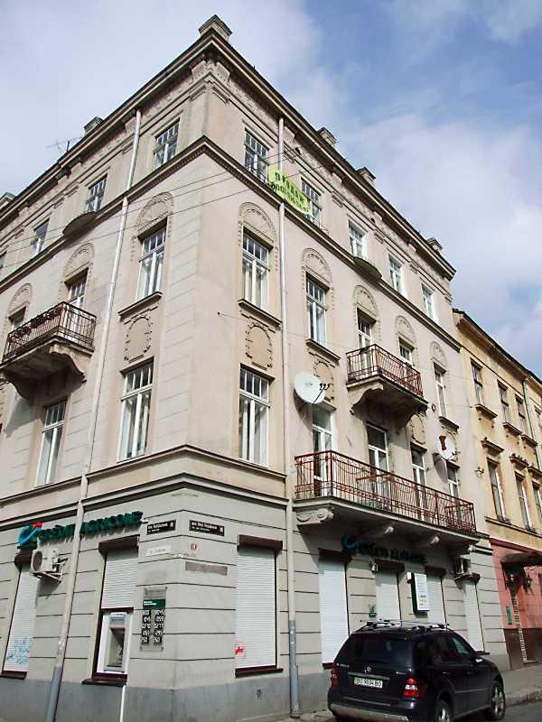 Фасад по вул. Лесі Українки