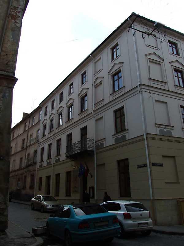 Фасад по вул. Друкарській
