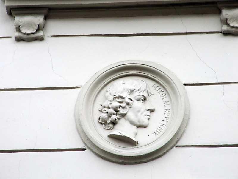 Барельєф Миколая Коперника