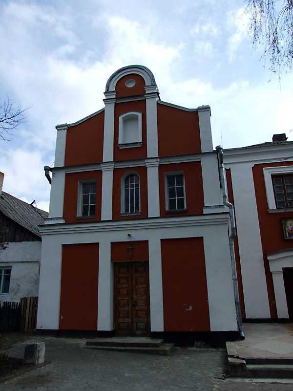 2012 р. Церква Кирила і Мефодія. Головний фасад