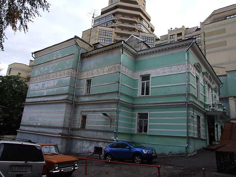 2012 р. Будинок вчених (№ 45а). Загальний вигляд