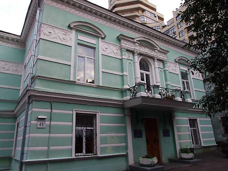 2012 р. Будинок вчених (№ 45а). Головний фасад