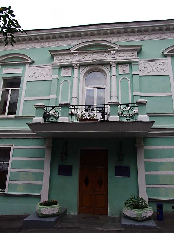 2012 р. Будинок вчених (№ 45а). Центральна частина головного фасаду