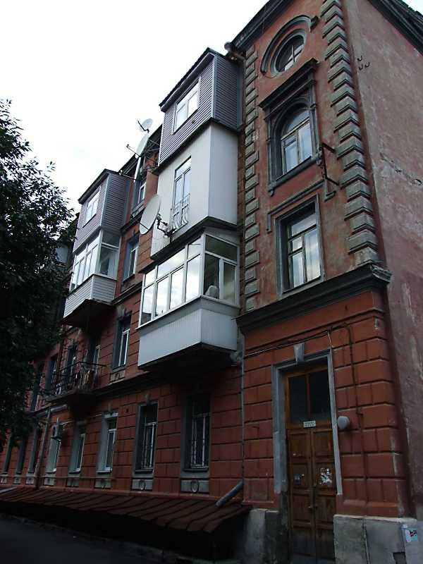 2012 р. Флігель головного будинку. Вигляд з боку двора