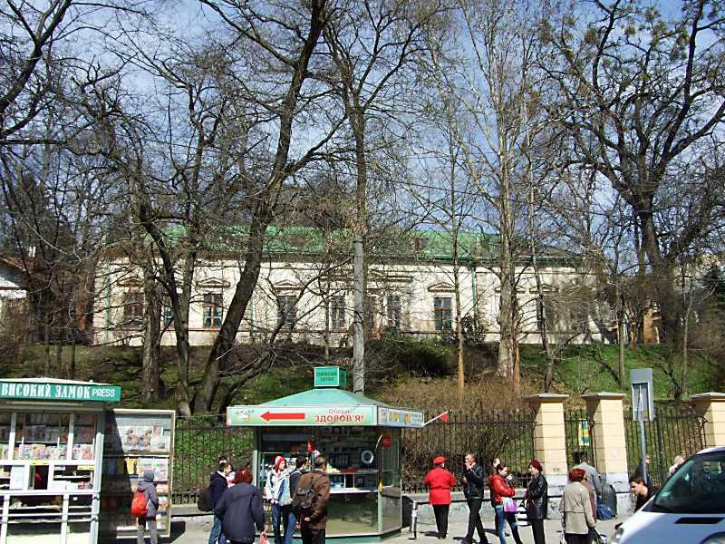 Будинок Лісової школи (№ 1)
