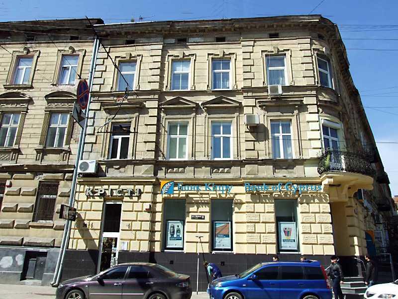 2013 р. Фасад по вул. І. Франка
