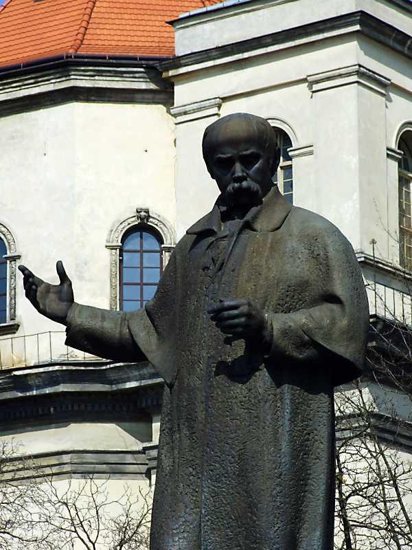 Півпостать Тараса Шевченка
