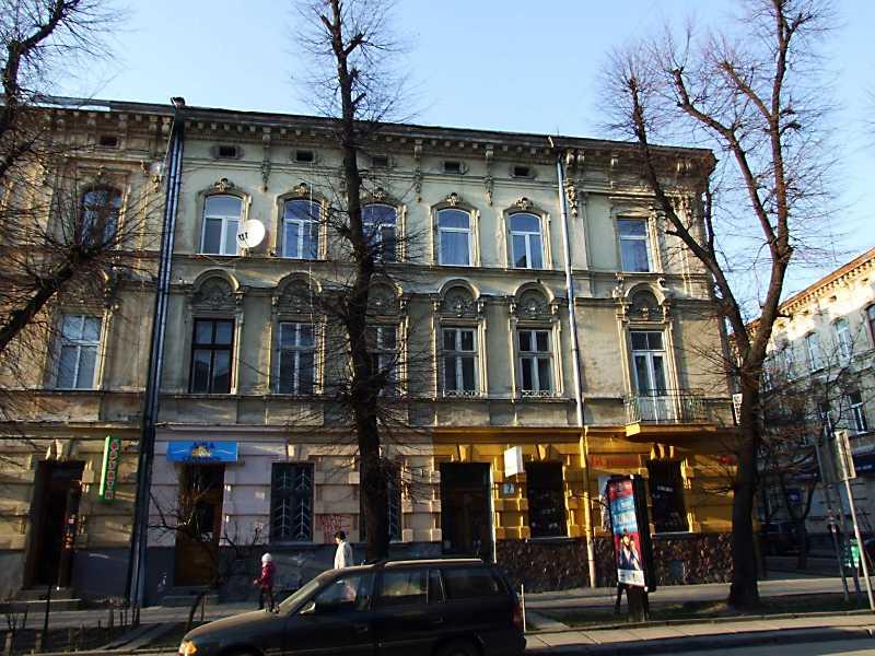 2013 р. Фасад по вул. К. Левицького
