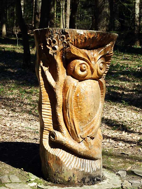 Скульптура «Сова»