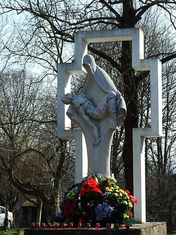 Пам'ятник воїнам, загиблим в Афганістані