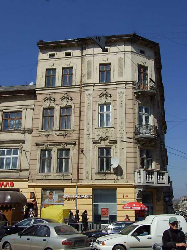 2013 р. Фасад по вул. Шпитальній