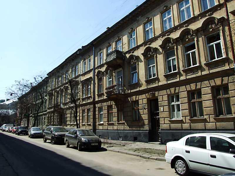2013 р. Перспектива від вул. К. Левицького в бік вул. Зеленої