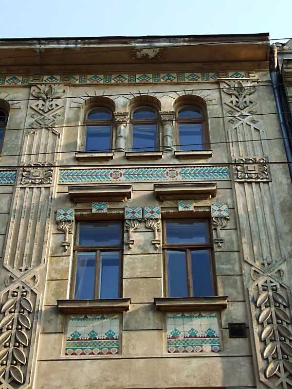 Фрагмент фасаду 3-4-го поверхів