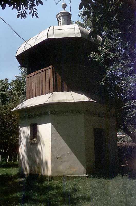 1991 р. Дзвіниця. Вигляд з північного сходу