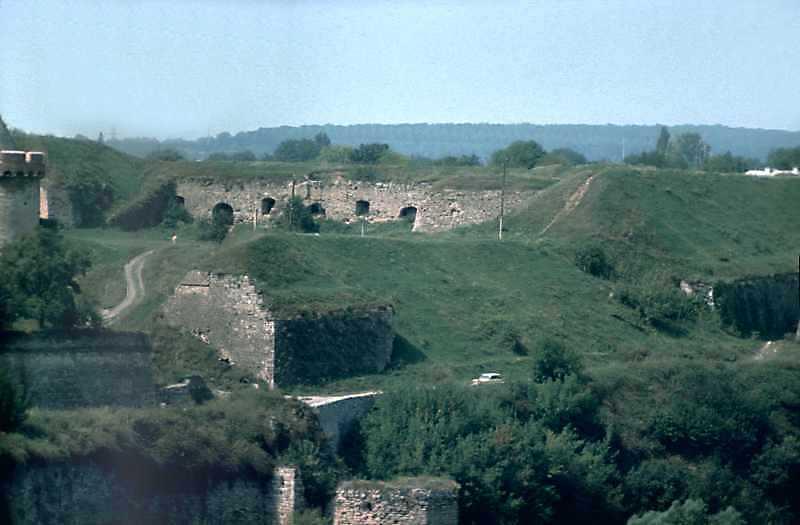 1989 р. Вигляд з південного сходу, з Вірменського бастіону