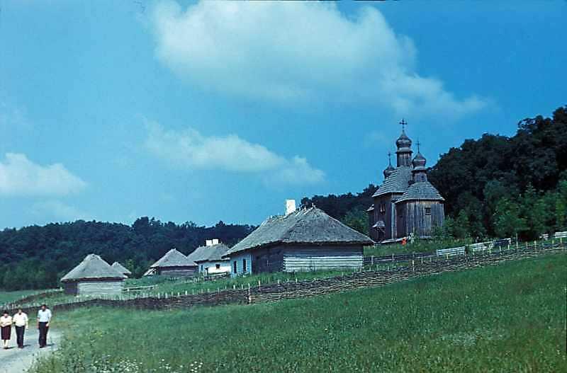 1983 р. Загальний вигляд північної частини зони зі сходу