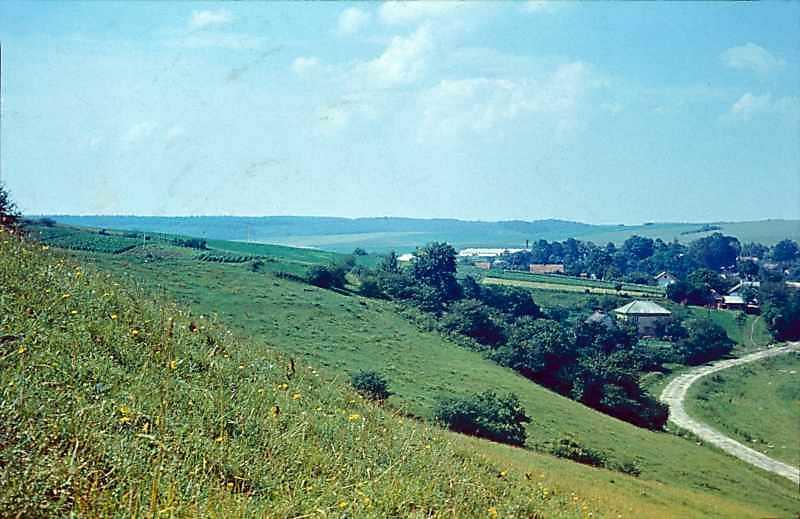 1977 р. Краєвид села